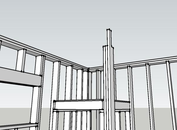 vertical beam